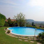 piscina panorama bergamo astino colli mozzo vendita villa indipendente casa vista