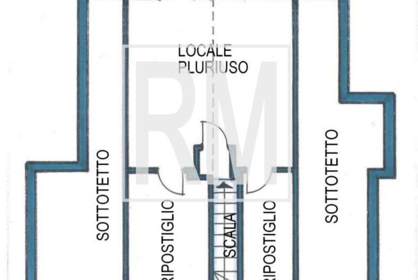 planimetria piano superiore